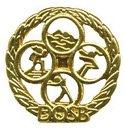 Kinderabzeichen in Gold