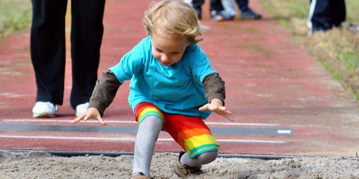 Sprung bei den Stadtmeisterschaften