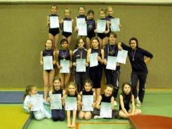 Gau-Einzelmeisterschaften 16.03.2008