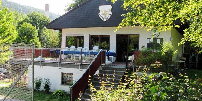 Das Vereinsheim des TV Lorch im Wispertal