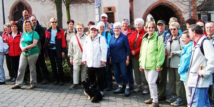 Gruppenbild Wandern