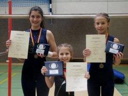 Gau Einzelmeisterschaften bestplatzierte Turnerinnen