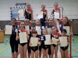 Gau-Einzelmeisterschaften Gruppenbild