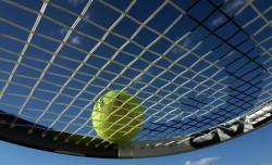Tennis Ankündigung