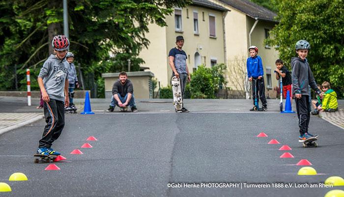 Skate-Parcour bei der LoWi-Session