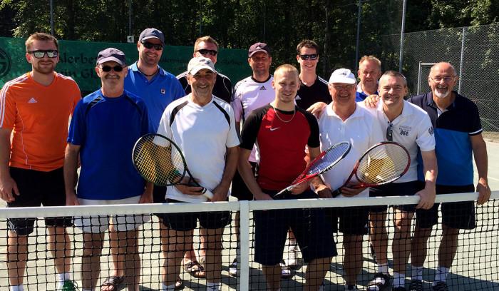 Tennis Vereinsmeisterschaften Doppel 2015