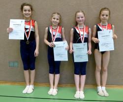 Gau-Einzelmeisterschaften 2016 Siegerehrung
