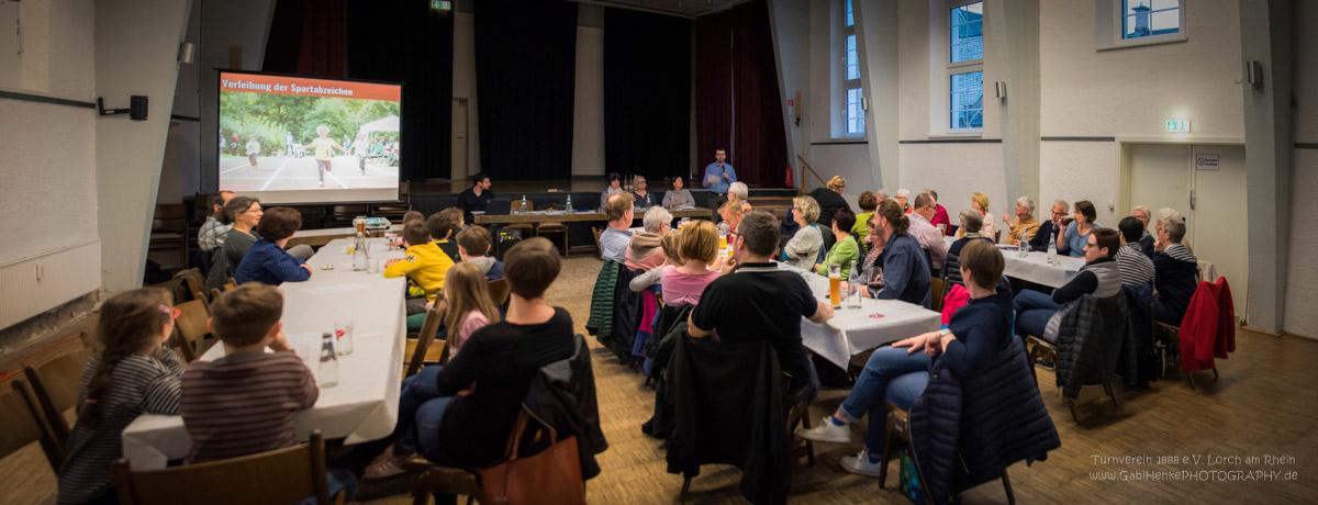 Mitgliederversammlung Turnverein Lorch 2018